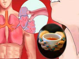 Благодаря этому чаю, вы выведете мокроту из легких, токсины и избавитесь от воспаления