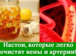 Настои, которые легко очистят вены и артерии