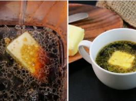 А Вы никогда не пробовали положить сливочное масло в кофе
