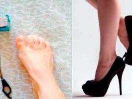 Этот трюк поможет ходить на высоких каблуках без боли и дискомфорта. Это реально работает