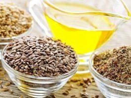 Семя льна и чеснока для очищения кишечника от паразитов и для похудения