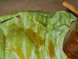 От кашля — лист капусты на грудь