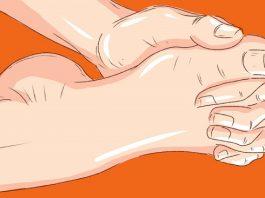 Упражнение «Переплетение пальцев»