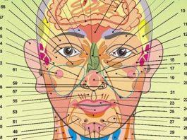Все болезни человека написаны на его лице. Весь перечень недугов