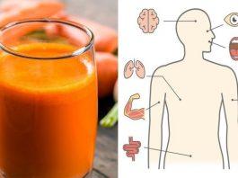 Вот 8 вещей, которые произойдут с вашим телом, если пить морковный сок по стакану в день
