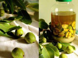 Сироп зеленых грецких орехов с сахаром или медом — удивительно сильное лекарство