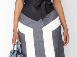 Стильные платья для женщин с пышными формами