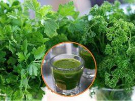Готовьте этот напиток с кинзой и петрушкой в течение 14 дней, чтобы избавиться от тяжелой пищи и вредных токсинов