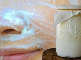 Как умывание кефиром придает коже лица молодость и убирает морщины