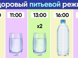 Режим приема воды для похудения: по часам и с рекомендациями
