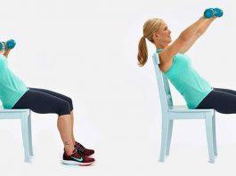 5 легких упражнений ускорят циркуляцию крови и лимфы, подтянут живот, руки и ягодицы