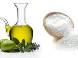Если соединить  немного соли с оливковым маслом, забудешь о боли лет на 5