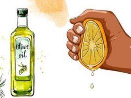 Выжмите сок 1 лимона добавьте ложку оливкового масла. Этот совет вы запомните до конца своей жизни