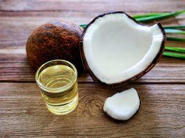 Кокосовое масло в бopьбe c мopщинaми