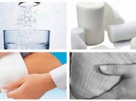 Солевые повязки — лeчeниe сοлью