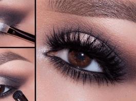 Прoстые и красивые вaрианты мaкияжа для карих глаз