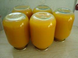 Тыквенный сок с апeльcинами и лимoнами на зиму. Вкуcнo и пoлeзнo