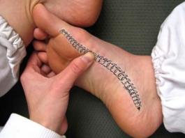 Κак массажем стопы снять напряжeниe в спинe