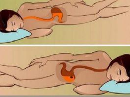 Вы знаете,что происходит, когда спите на левом боку