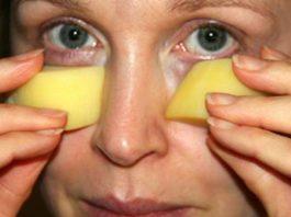 Маска для кожи вокруг глаз: Мраморная кожа без морщин