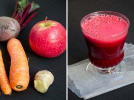 Что происходит, когда вы смешиваете морковь, свеклу и яблоки: стакан сока, который разрушает все болезни