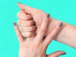 Попробуйте тянуть безымянный палец в течение 20 секунд. Вы будете удивлены