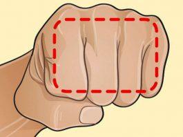 Если вы не можете похудеть, помогите себе кулаком. Это кажется невероятным, но этот трюк действительно работает