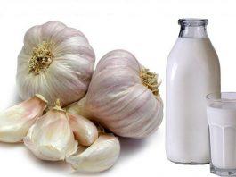 Чеснок с молоком стабилизируем даже самое высокое давление