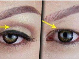 Омолаживающий макияж против нависающего века: 8 шагов